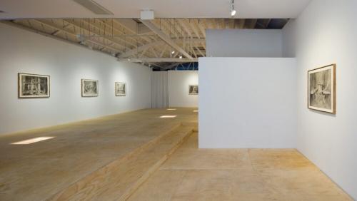 "Installation view of Rodrigo Valenzuela's Journeyman, courtesy of Klowden Mann Gallery in Press: Artilley, ""Rodrigo Valenzuela at Klowden Mann"", by Shana Nys Dambrot"