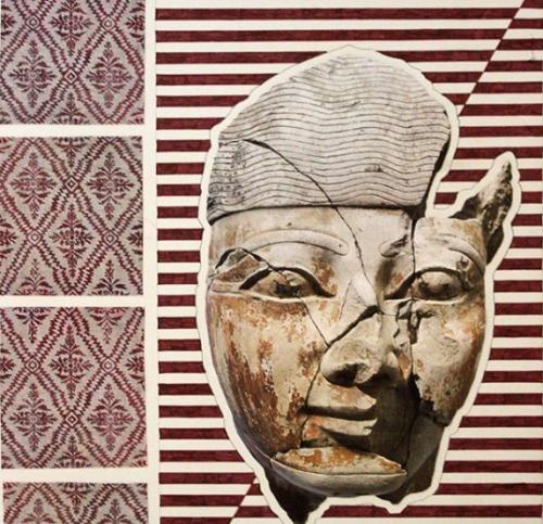 Matthew Craven collage on paper