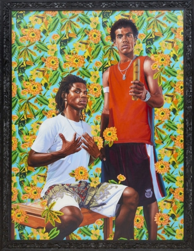 Kehinde Wiley in The World Stage
