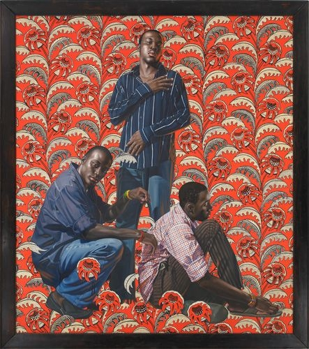 Kehinde Wiley in IncarNations - African Art as Philosophy
