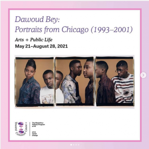 Dawoud Bey in TOWARD COMMON CAUSE: ART, SOCIAL CHANGE, AND THE MACARTHUR FELLOWS PROGRAM AT 40