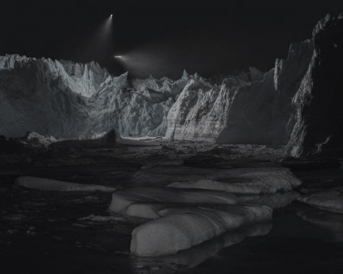 Julian Charrière in BLACK LIGHT: Positions of the sublime in contemporary art