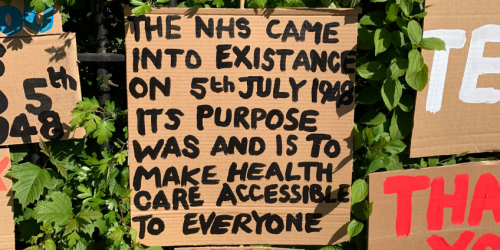 Peter Liversidge in Sign Paintings for Belfast