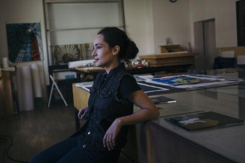 Shahzia Sikander in Community Associates Guest Artist Program: Shahzia Sikander