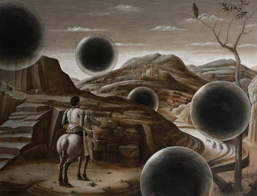 Laurent Grasso in Soleils Noirs