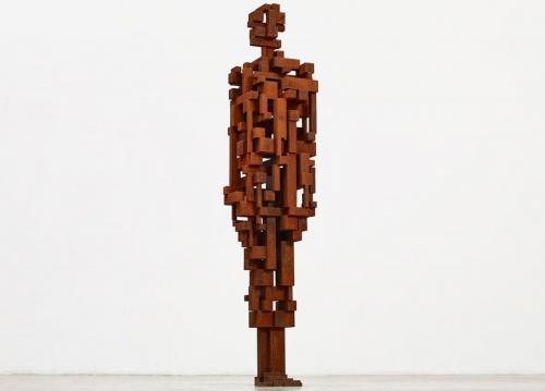 Antony Gormley installation: WORK