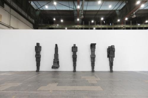 Antony Gormley and Kris Martin in Diversity United: Contemporary European Art