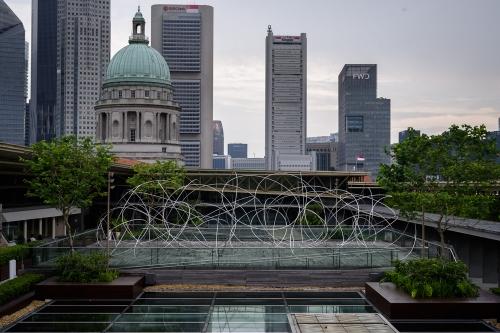 Antony Gormley at National Gallery Singapore