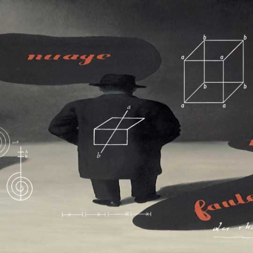 Joseph Kosuth permanent installation: La signification, L'emplacement du mot dans un champ grammatical