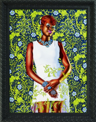 Kehinde Wiley in The Yellow Wallpaper