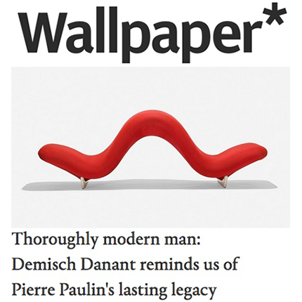 Wallpaper Magazine: Pierre Paulin's Lasting Legacy