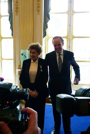 Maria Pergay is named Chevalier of the Order of Art and Letters by the French Ministry of Culture