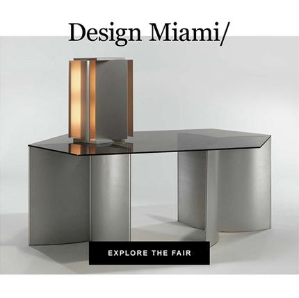 """Artsy features """"Design Steel"""" as one of best booths at Design Miami/"""