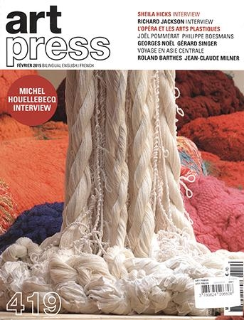Art Press Interviews Sheila Hicks