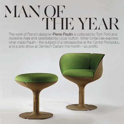Pierre Paulin and Demisch Danant Featured in Cultured Magazine