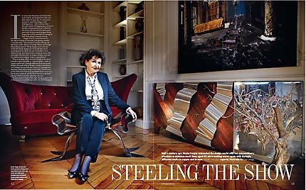 Maria Pergay featured in FT Weekend