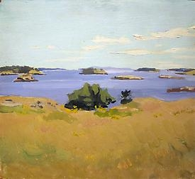 Fairfield Porter exhibition reviewed in the Wall Street Journal