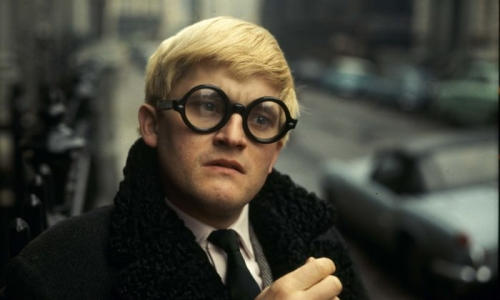 Works and recorded readings by David Hockney will complement screenings of James Scott films at an upcoming show at Anita Rogers Gallery. Image: Fresh on the Net/Flickr