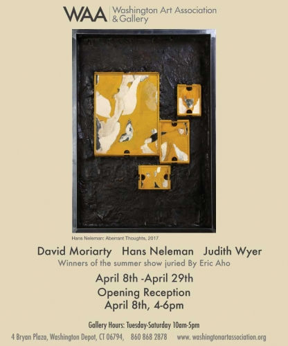 """Hans Neleman Selected by Eric Aho to Exhibit in """"Winners of the 2016 Juried Show"""""""