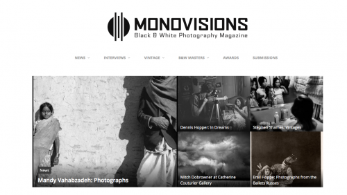 Mandy Vahabzadeh's Photographs Featured on MonoVisions