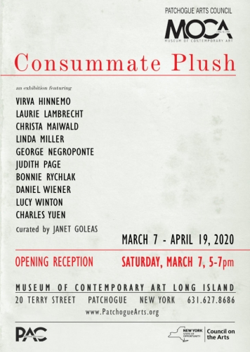 Virva Hinnemo and George Negroponte Featured in 'Consummate Plush' at the MOCA L.I.