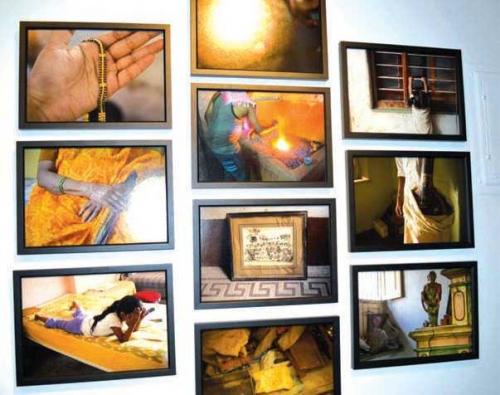"""The art of South Asian identity, history, politics"""