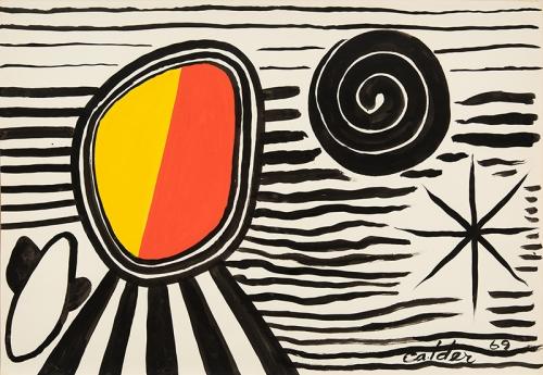 Alexander Calder (1898-1976) Untitled, 1969