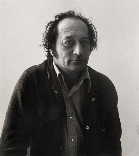 Photo of Norman Bluhm. Courtesy of The Estate of Norman Bluhm.
