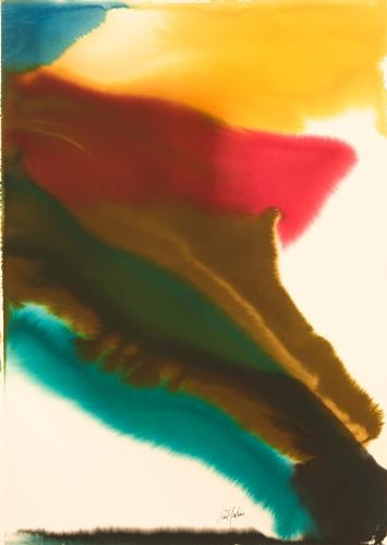 Paul Jenkins, Phenomena Manolette Red, 1979