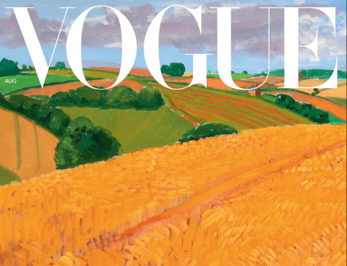 A David Hockney Painting Is The first Of 14 Special Landscapes For Vogue's August Covers