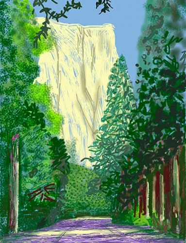 David Hockney's Yosemite and Masters of California Basketry