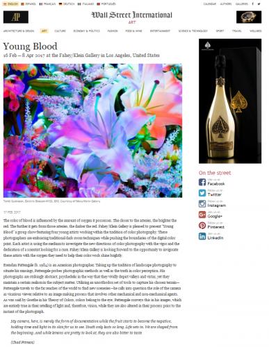 Young Blood  - Wall Street International