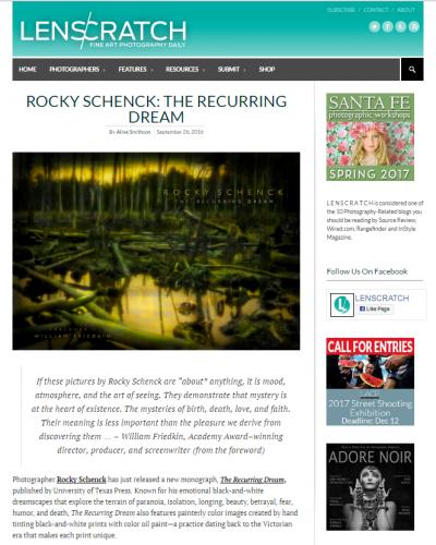 Rocky Schenck: The Recurring Dream - Lens Scratch