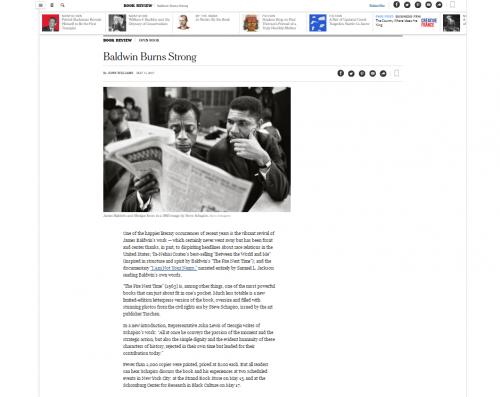Steve Schapiro - Baldwin Burns Strong - New York Times