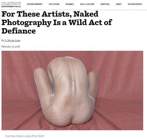 Future Feminine: For These Artists, Naked Photography Is a Wild Act of Defiance - Playboy