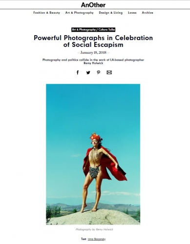 Future Feminine: Powerful Photographs in Celebration of Social Escapism - Another Magazine