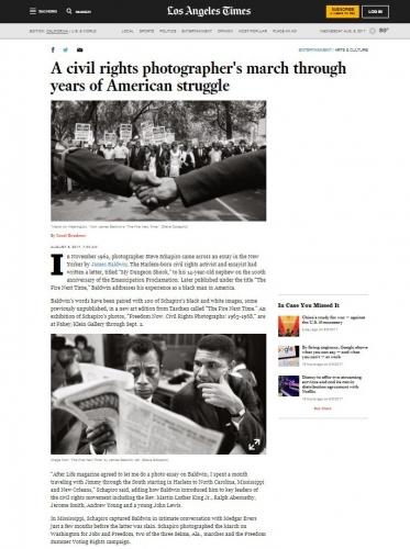 Steve Schapiro - A Civil Rights Photographer's March Through Year's of American Struggle - LA Times