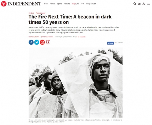 Steve Schapiro - The Fire Next Time: A Beacon in Dark Times 50 Years On - The Independent