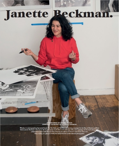 Janette Beckman - ODDA, Issue 15 (Fall 2018-2019), Interview by Kyle Johnson / Photos courtesy of Gudrun Georges