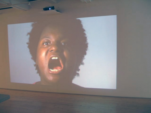 Kenyatta A.C. Hinkle, Cross-Examination, video installation