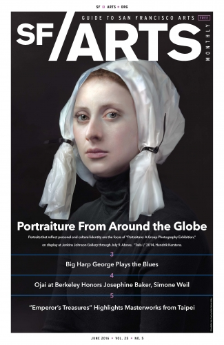 Cover of the June Issue of SF Arts Monthly
