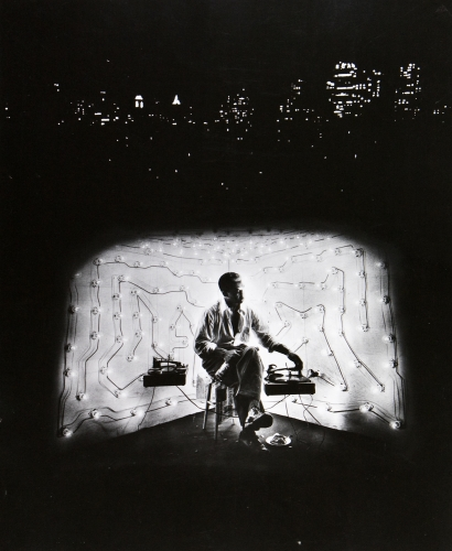Gordon Parks, Invisible Man Retreat, Harlem, New York, 1952, pigment print