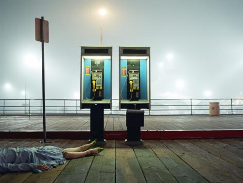 Phones, 2005, c-print