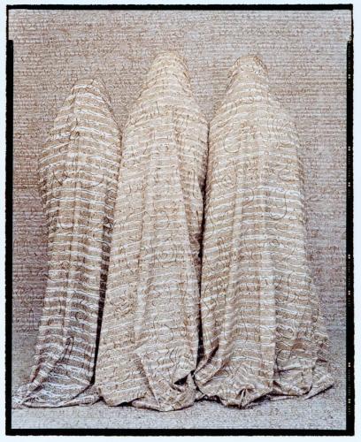 Lalla Essaydi, Les Femmes du Maroc #26B, 2006, chromogenic print, 60 x 48 inches