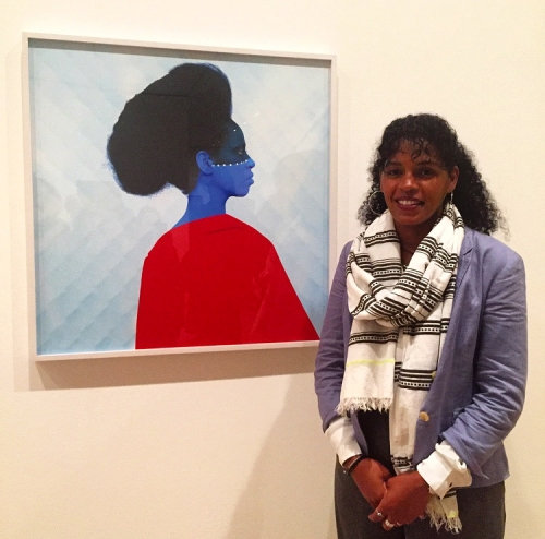 "Aida Muluneh in ""Being"" at MoMA Featured in The New York Times"