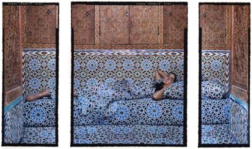 Harem #18B, 2009, three chromogenic prints