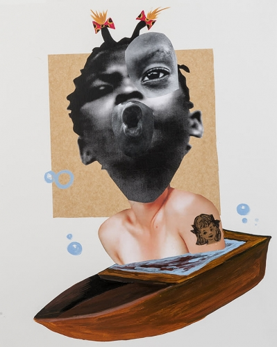 Deborah Roberts at Art Basel Miami Beach Highlighted by the Financial Times