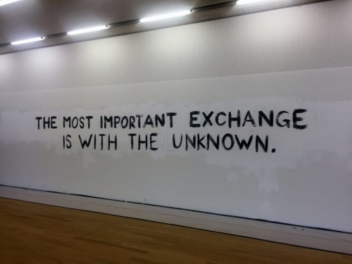 The Give & Take - Tim Etchells' Residency for Tate Exchange at Tate Modern