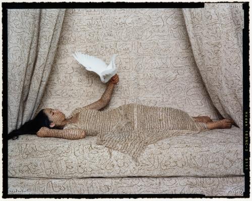 Les Femmes du Maroc-La Sultane, 2008, chromogenic print, 20x24in