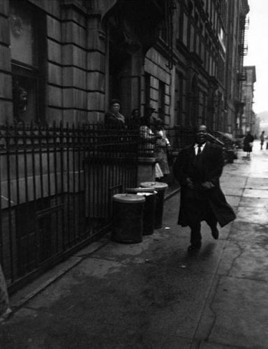 DeCarava, Louis Armstrong, 1952